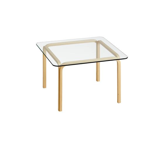 Glasstable Y805B von Artek | Esstische