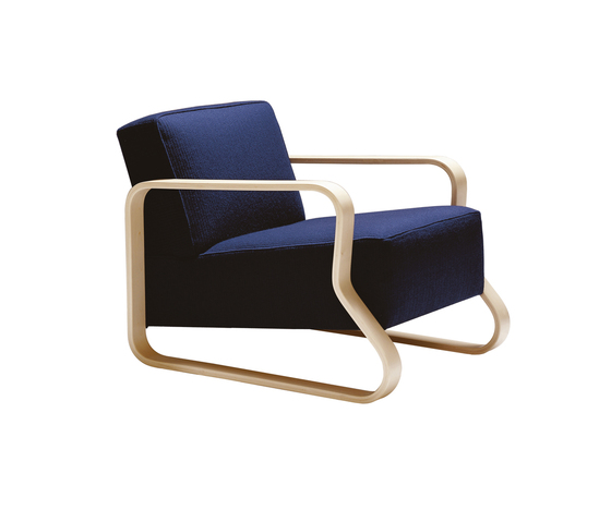 Armchair 44 by Artek | Lounge chairs