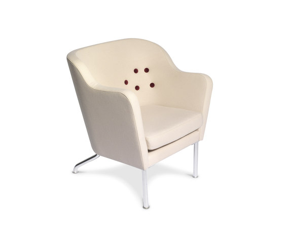 Beatrix Easychair by Källemo | Armchairs
