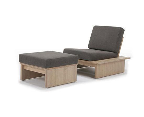 Omo armchair/ottoman di TEORI | Poltrone