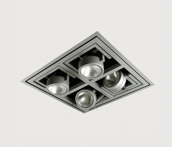 Diapason Kwadro Recessed by Kreon | Spotlights
