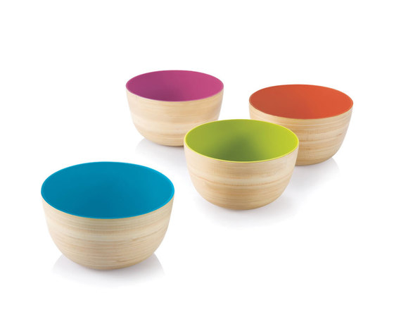 Coiled Mini Me Outside In Bowl de bambu | Bowls