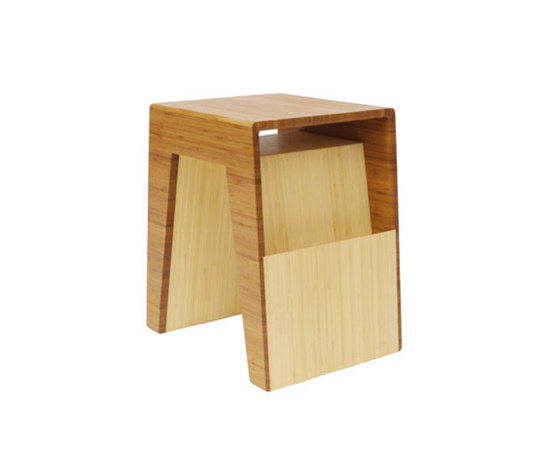 Hollow End Table di Brave Space Design | Portariviste