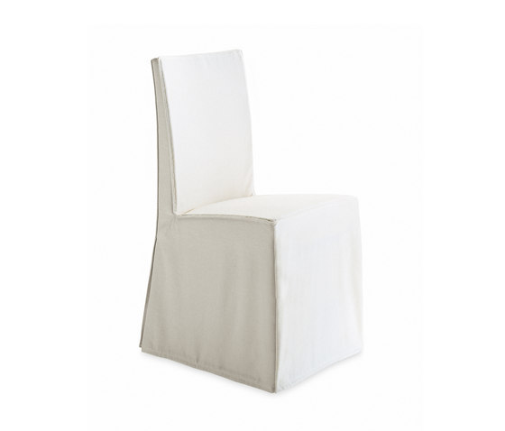 Creta Due chair by Poliform | Restaurant chairs