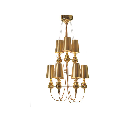 Josephine mini queen 6.3 Chandelier by Metalarte | General lighting