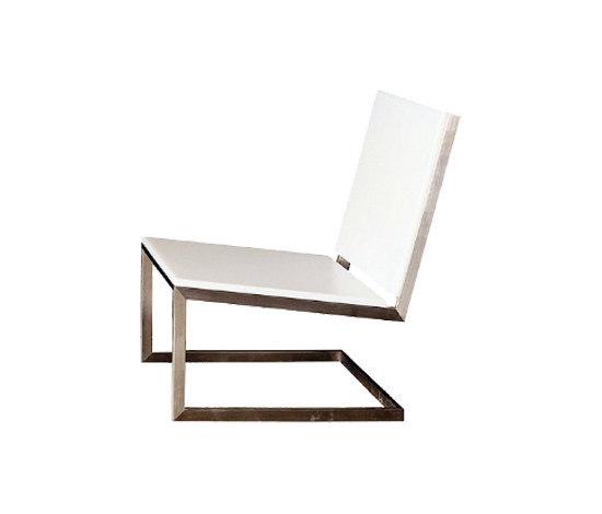 Luna low armchair* by GANDIABLASCO | Garden armchairs