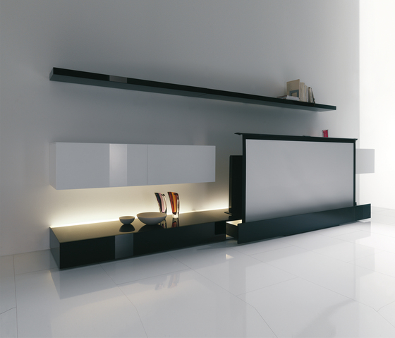 New Concepts Bases by Acerbis | Multimedia sideboards