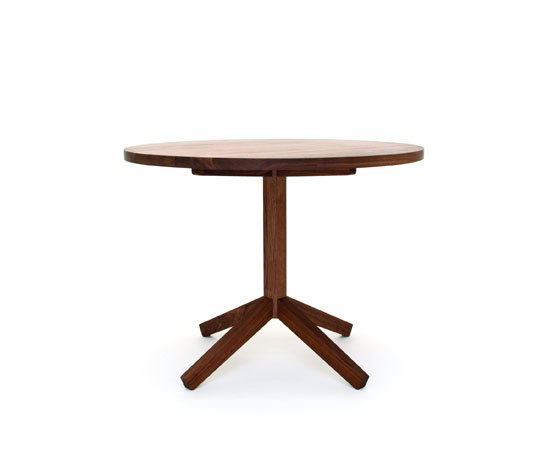 volata 3 Table round by tossa | Dining tables
