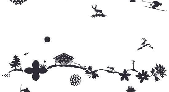 Cristallina de Création Baumann | Tejidos murales