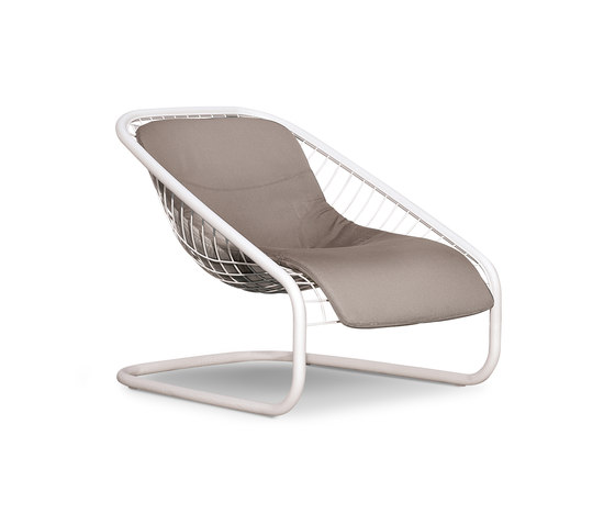 Cortina Armchair Outdoor by Minotti | Garden armchairs