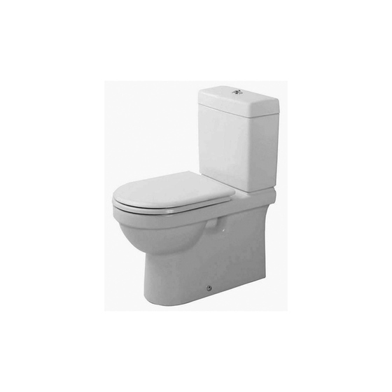 Happy D. - Toilet, close-coupled by DURAVIT | Toilets