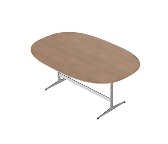Model D413 by Fritz Hansen | Meeting room tables