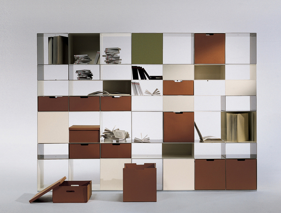 Infinity by Flexform | Office shelving systems