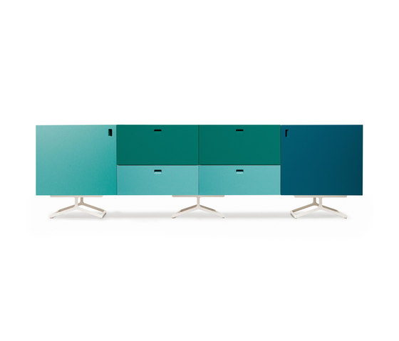 Satellite cabinets on K-base by Quodes | Sideboards