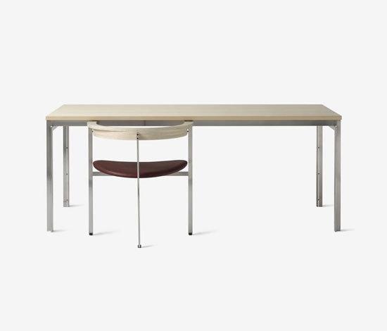 PK 55 / PK 51 by Kjærholm Production | Dining tables