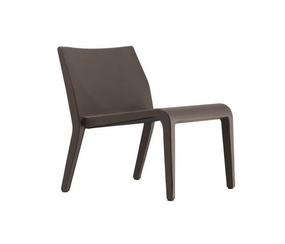 laleggera armchair leather 305_L by Alias | Lounge chairs