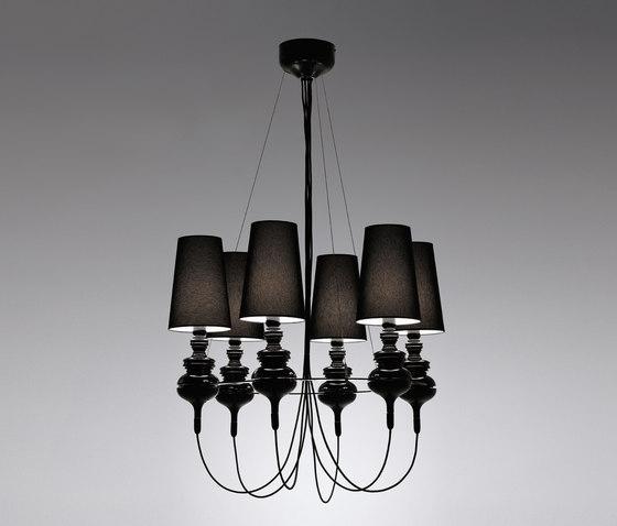 Josephine queen 6 Chandelier by Metalarte | General lighting