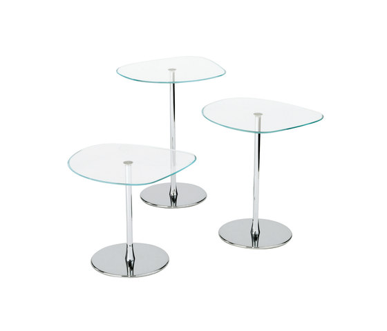Mixit Glass small table de Desalto | Tables d'appoint
