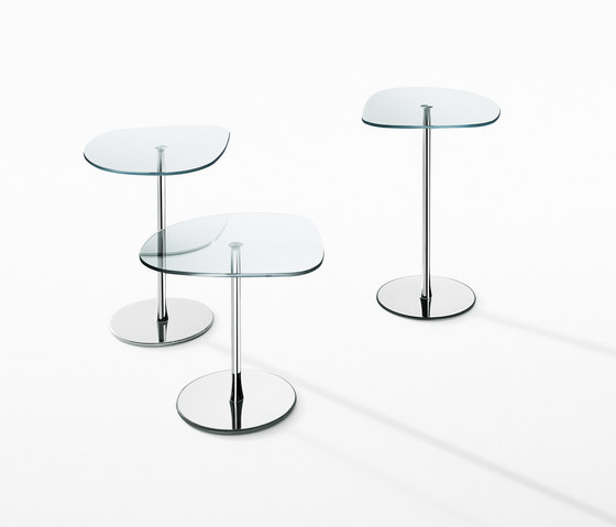 Mixit Glass small tables by Desalto | Side tables