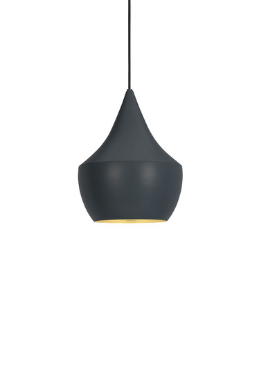 Beat Fat Pendant Black de Tom Dixon | Iluminación general
