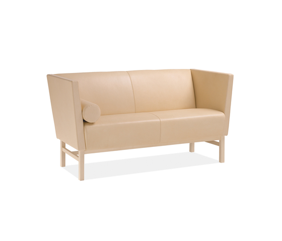 Minimal 2-seater sofa by Materia | Lounge sofas