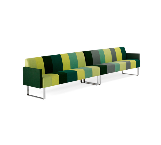 Monolite 6-seater sofa by Materia | Lounge sofas