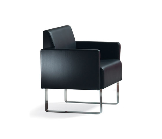 Monolite easy chair by Materia | Lounge chairs
