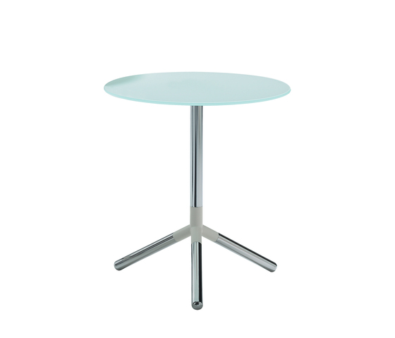 Obilite pillar table by Materia   Side tables