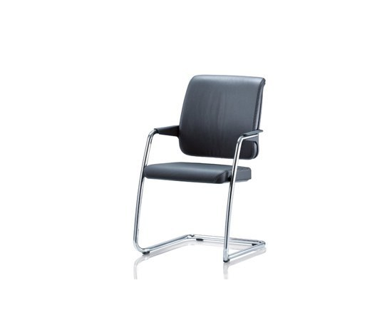 CONNEXION Cantilever chair by Girsberger | Visitors chairs / Side chairs