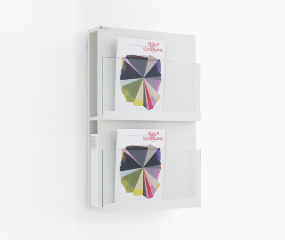 Front Storage FRFT 5042 by Karl Andersson | Brochure / Magazine display stands