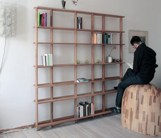 Supersystem 1 Wood by Tom Kühne | Shelving systems
