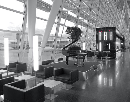 Center Bar | Unique Airport | Zurich by Girsberger