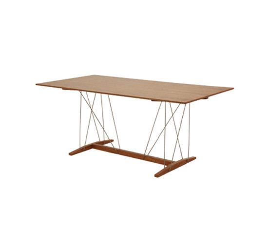 Tensor rectangular table von Useche | Esstische