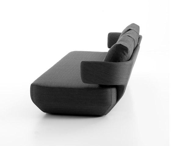 Levitt sofa by viccarbe | Lounge sofas