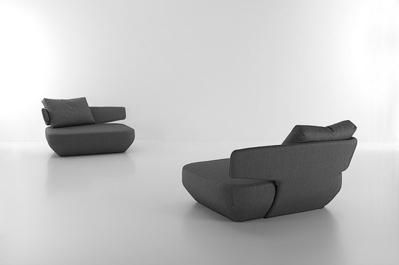 Levitt armchair by viccarbe | Lounge chairs