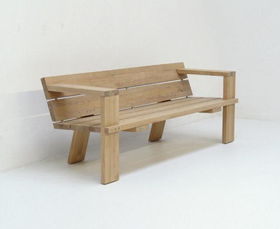 Berthe by Pilat & Pilat | Garden benches