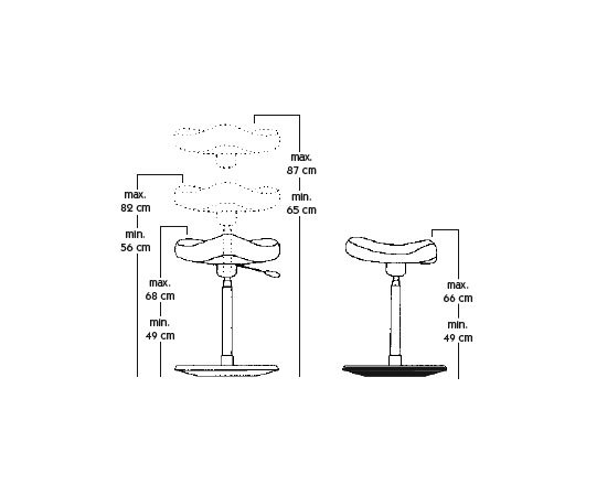 Move™ by Variér Furniture | Lean stools