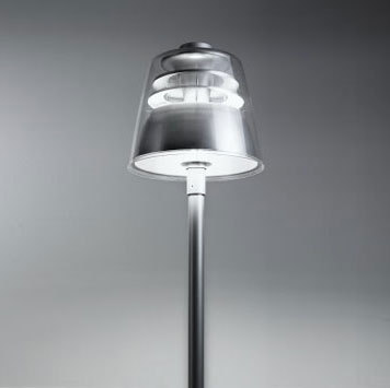 W-Bell pole fixture by ZERO | Path lights