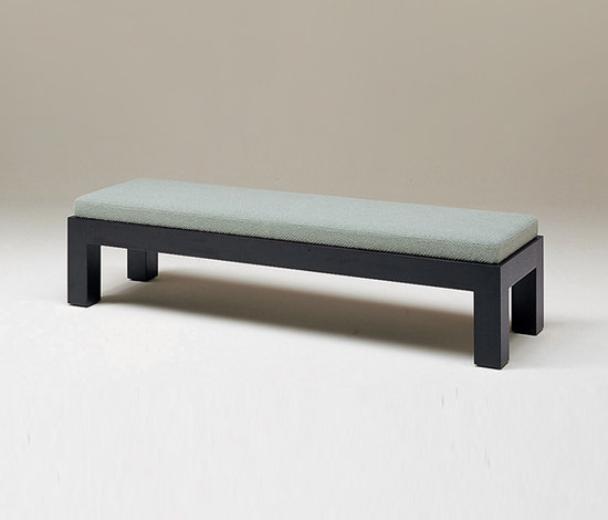 Cubis bench by Conde House | Upholstered benches