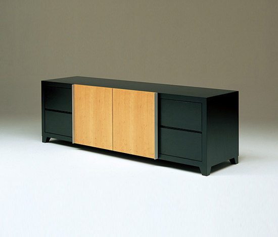 Shoji media cabinet by Conde House | Multimedia sideboards