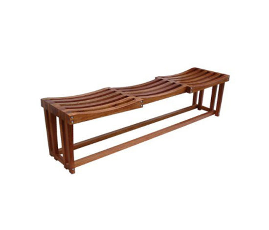 Clip bench by Schuster | Upholstered benches