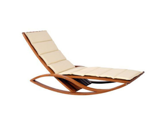 Zonza rocking chaise de Schuster | Chaise longues
