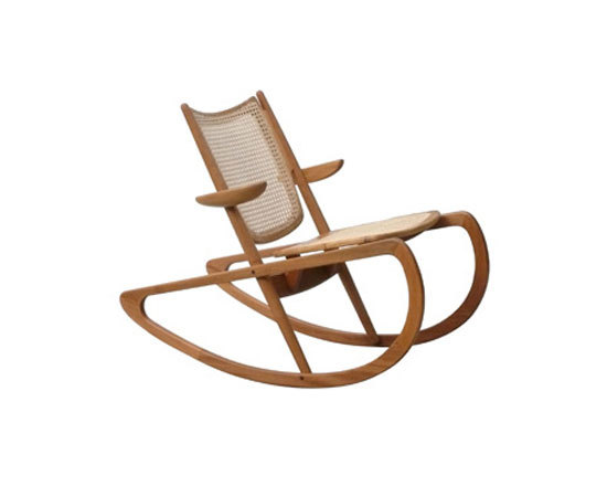 Verão Rocking Chair by Mendes-Hirth | Armchairs