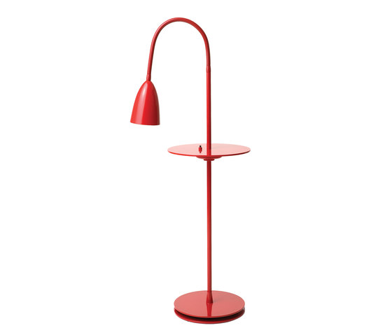 Arkipelag floor lamp w table by RUBEN LIGHTING | General lighting