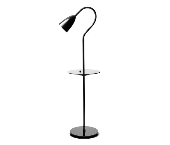 Arkipelag floor lamp w table by RUBEN LIGHTING | Free-standing lights