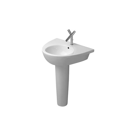 Starck 2 - Pedestal by DURAVIT | Wash basins
