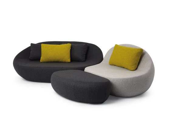 Flirtstones | Seating System by spHaus | Modular sofa systems