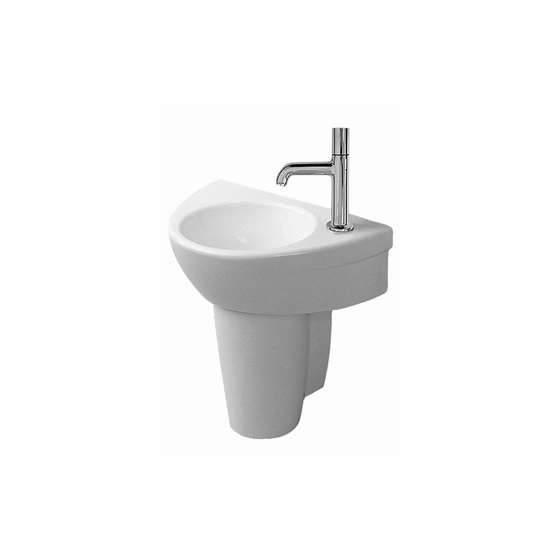 Starck 2 - Siphon cover by DURAVIT | Wash basins