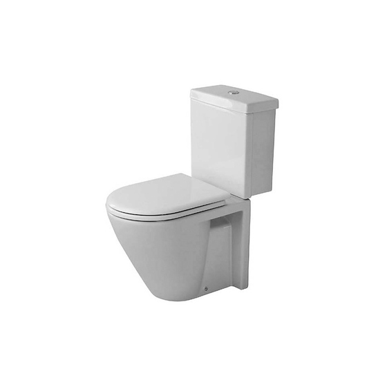 Starck 2 - Toilet, close-coupled by DURAVIT | Toilets