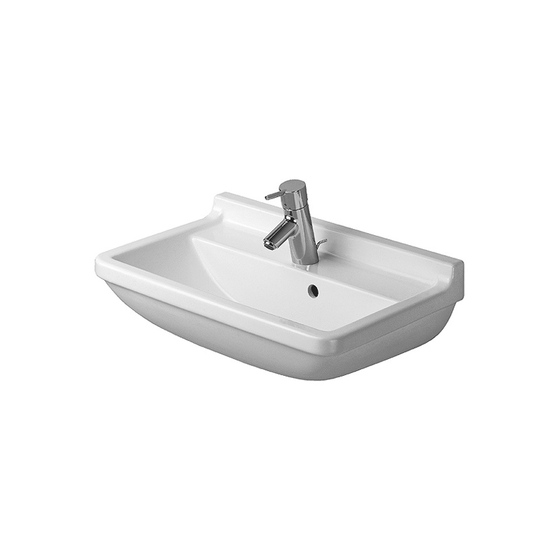Starck 3 - Washbasin compact by DURAVIT | Wash basins